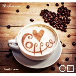 Goblen de diamante Cafeluta