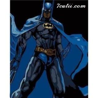 Pictura pe numere -Batman si noaptea
