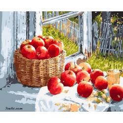 Pictura pe numere - Aroma de mere