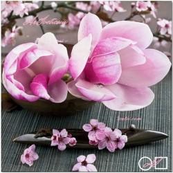 Goblen de diamante Magnolii roz