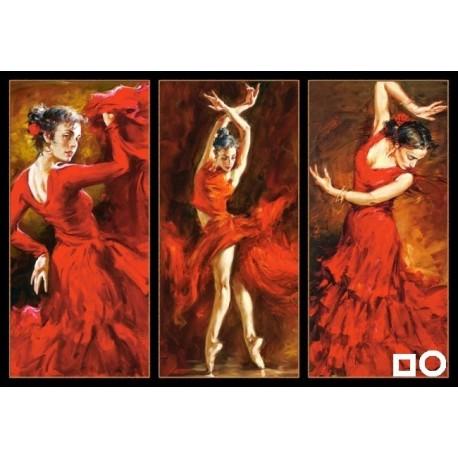 Panou de diamante - Dansul, pasiunea mea