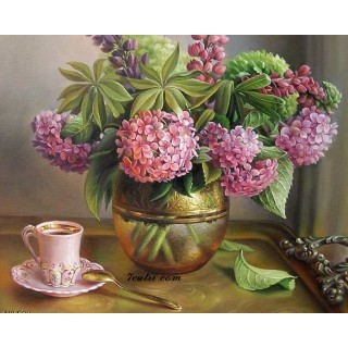 Pictura pe numere - Cafea matinala cu aroma puternica