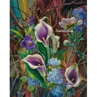 Pictura pe numere - Cele mai frumoase flori