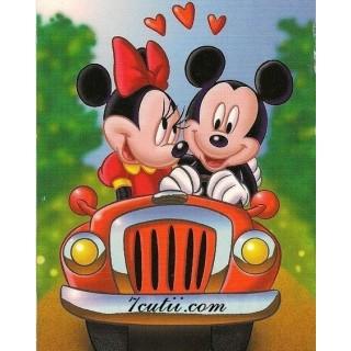 Pictura pe numere - Mickey si Minnie calatorie