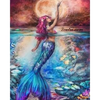 Pictura pe numere - Sirena
