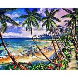Pictura pe numere - Palmieri de coco