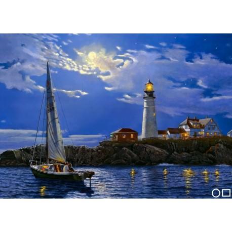 Goblen de diamante - O noapte cu luna la farul vechi