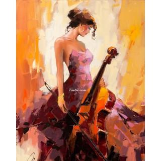 Pictura pe numere - Talent si frumosete