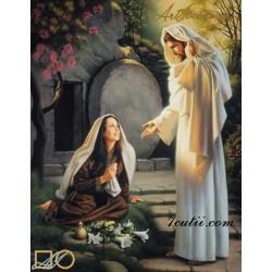 Goblen de diamante Maria Magdalena si Iisus