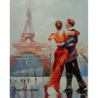 Pictura pe numere - Dansul nostru la Paris