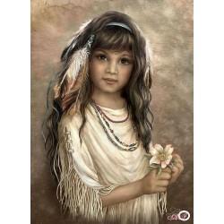 Goblen de diamante - O mica amerindiana Cherokee