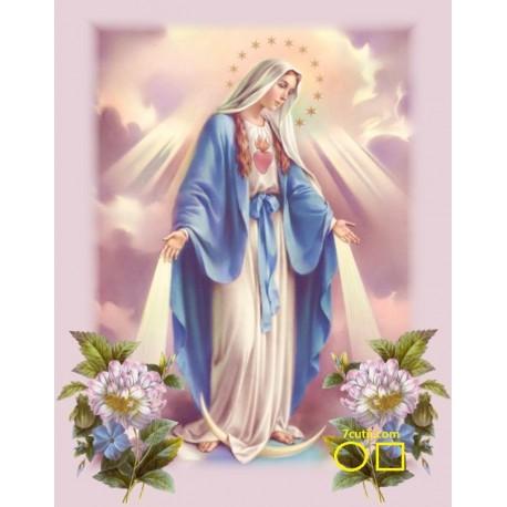 Goblen de diamante - Fecioara Maria