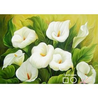 Goblen de diamante - Cala, Floarea Eleganţei