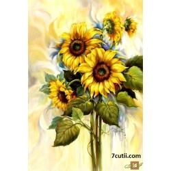 Goblen de diamante - Florea Soarelui
