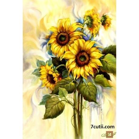 Goblen de diamante - Florea-Soarelui