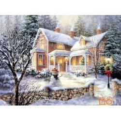 Goblen de diamante - Casa din Poveste de Iarna