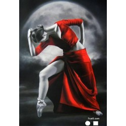 Goblen de diamante - Dansatoare