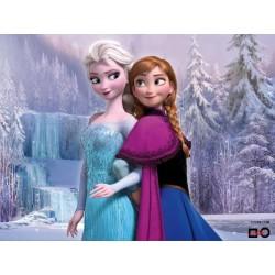 Goblen de diamante - Frosen - Elsa si Anna