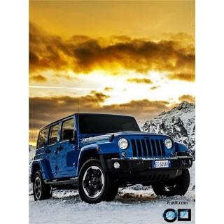 Goblen de diamante - Jeep