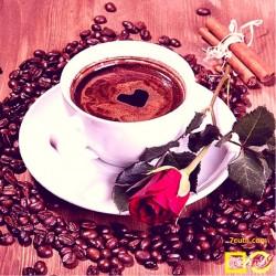 Goblen de diamante - Cafeaua aromata de dimineata