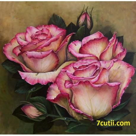 Goblen de diamante - Trandafiri aromatice