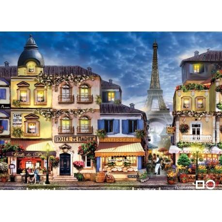 Goblen de diamante -  Straduta in Paris