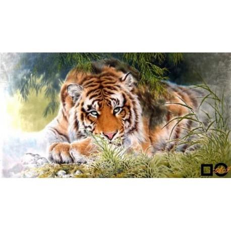 Goblen de diamante - Tigru bengalez