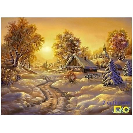 Goblen de diamante - O zi de iarna cu soare