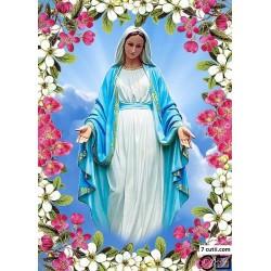 Goblen de diamante - Fecioara Maria - miracolul primaverii