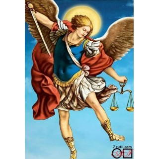 Goblen de diamante - Luptatorul celestial - Arhanghelul Mihail
