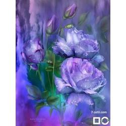 Goblen de diamante - Trandafiri Violeti