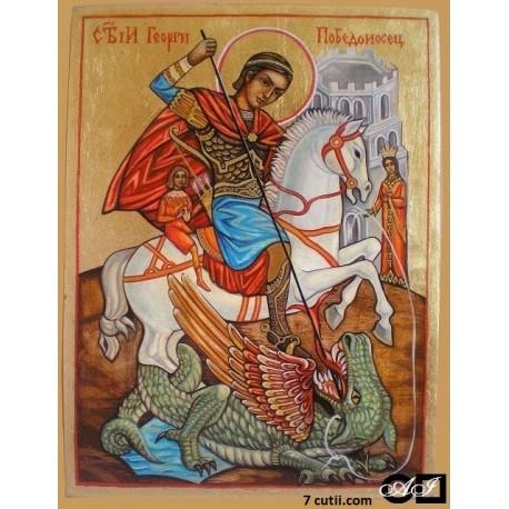 Goblen de diamante - Sfântul Gheorghe