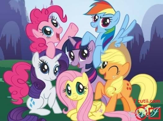 Goblen de diamante - My little pony: Dimensiuni si tip - 40x32 cm Margele Patrate