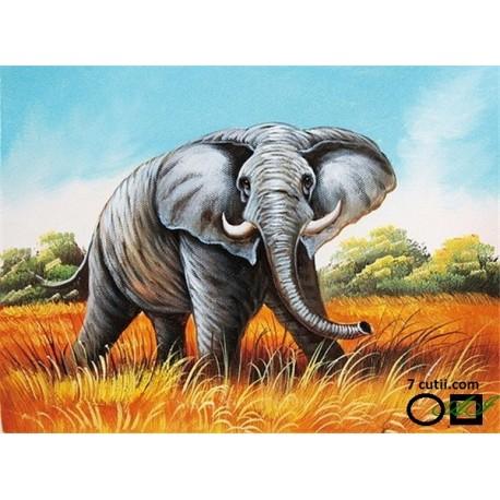 Goblen de diamante - elefant pentru noroc
