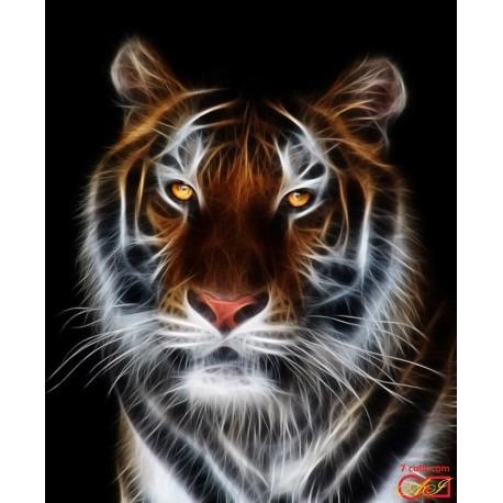 Goblen de diamante - Tigrul magnific