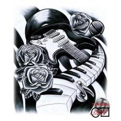 Goblen de diamante - Viata e muzica