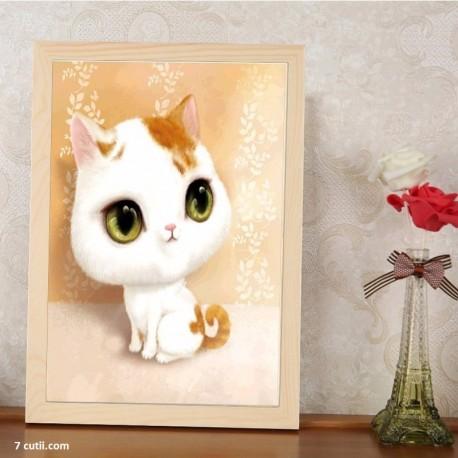 Goblen de diamante - Pisicuta frumosica 1