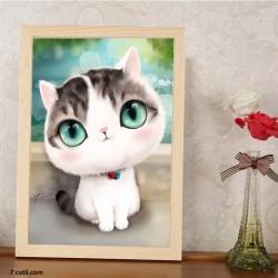Goblen de diamante - Pisicuta frumosica 3