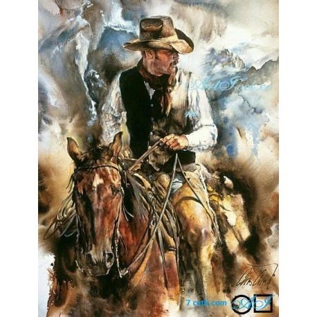Goblen de diamante - Cowboy