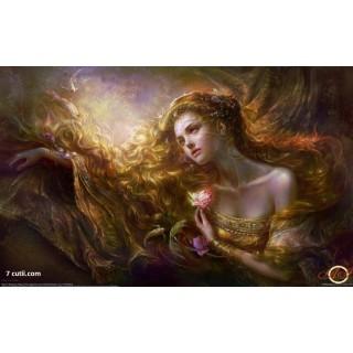 Goblen de diamante - Floarea magica