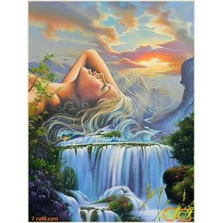 Goblen de diamante - Paradisul aquatic