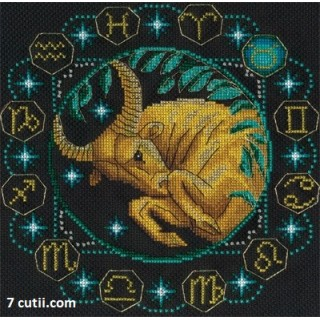 Goblen de diamante - Zodia Taur
