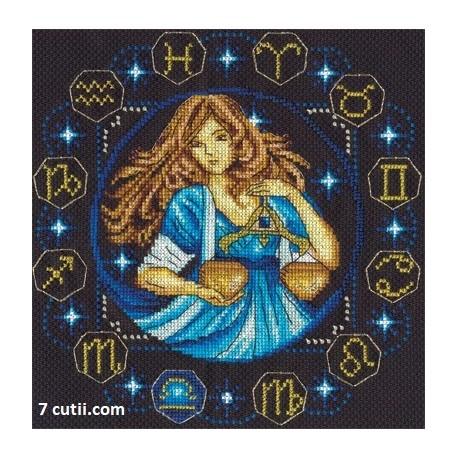 Goblen de diamante - Zodia Balanta