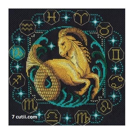 Goblen de diamante - Zodia Capricorn