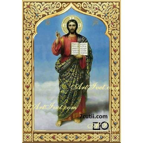 Goblen de diamante - Isus Hristos - Sa fie lumina in zilele Voastre