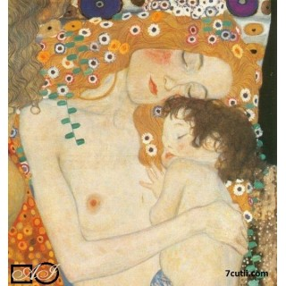 Goblen de diamante - Somn usor (Gustav Klimt)