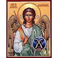 Goblen de diamante Sfantul Raphael - vindecatorul