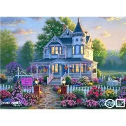 Goblen de diamante Casa din vise