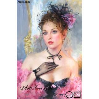 Goblen  de  diamante  Parfum de femeie