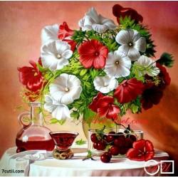 Goblen de diamante Flori si cirese